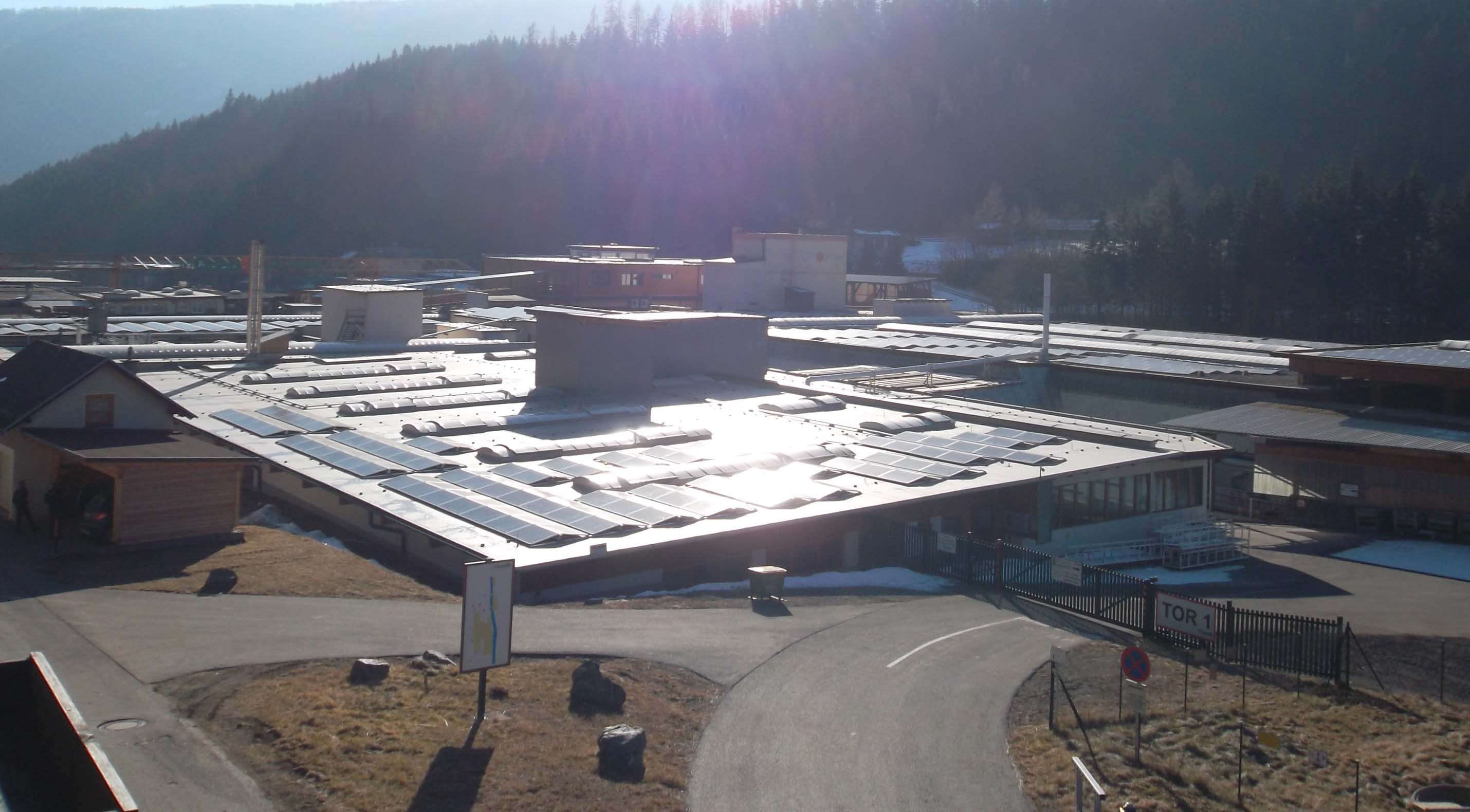 Solar Glare Hazard in Austria